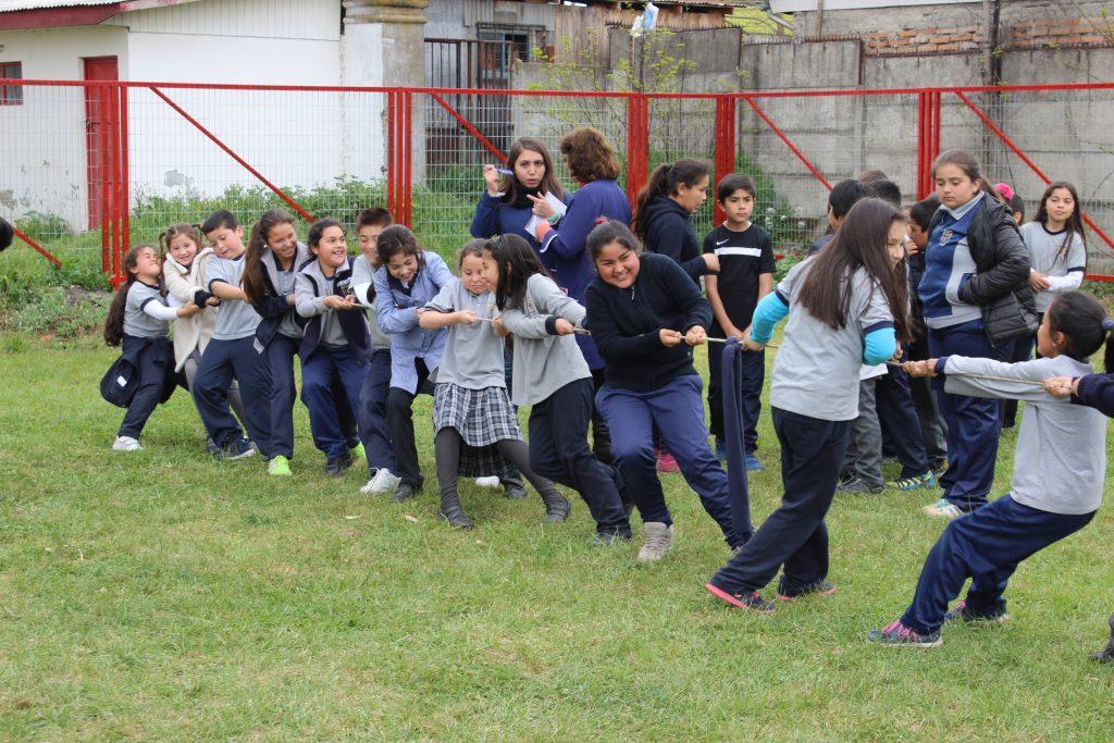 Juegos Tipicos Chilenos Escuela Villa Culenar Talca